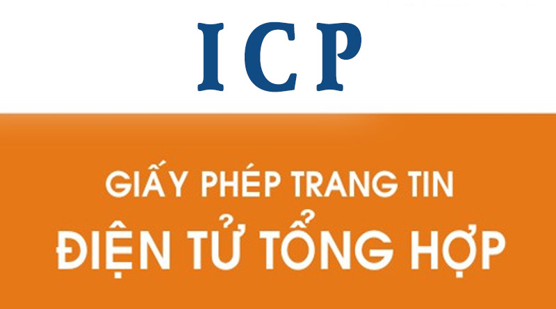 Giấy phép thiết lập trang thông tin điện tử tổng hợp ICP